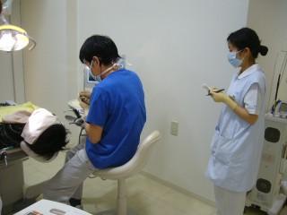 衛生士の実習生