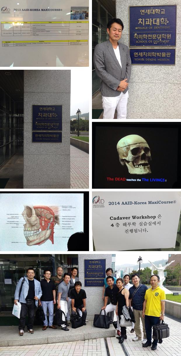 韓国AAIDにてインプラント解剖学について学んできました!