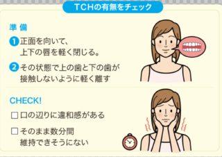 TCH リラックスしている時の歯の状態は?